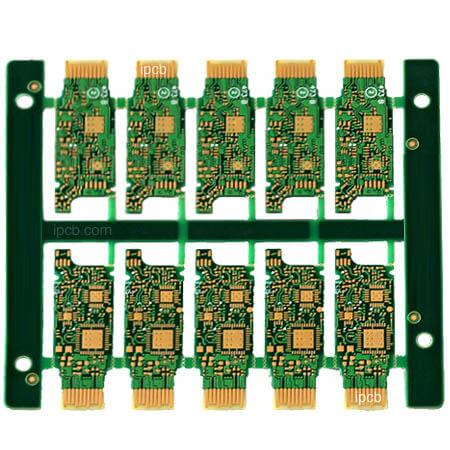 Optical fiber module PCB